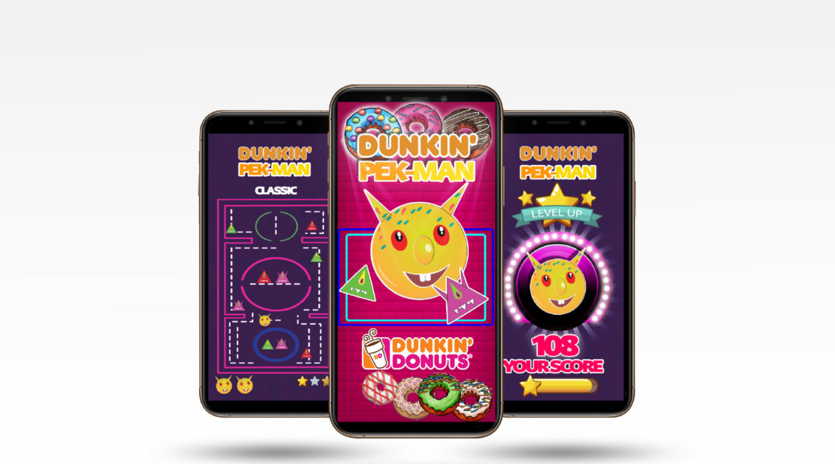 Dunkin Donuts 'Game' App